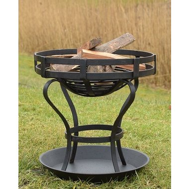 Fire pit with ground plate, approx. 41 cm