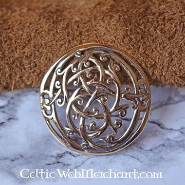 Bronze Urnes style Viking brooch
