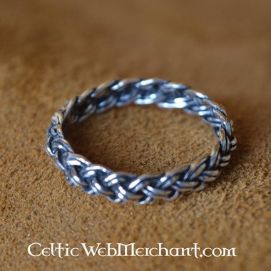 Vichingo anello con motivo nodo