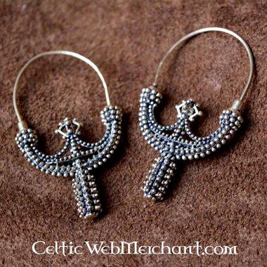 Slavic earrings Zawada Lanckorońska