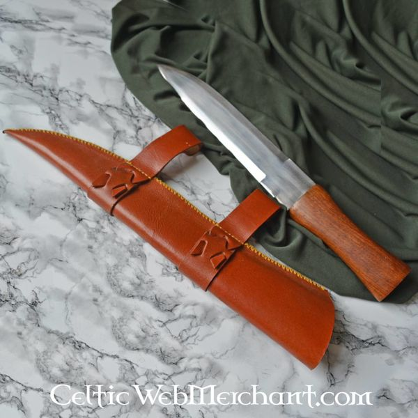 Viking seax with scabbard