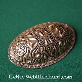 Viking skildpadde broche Finland