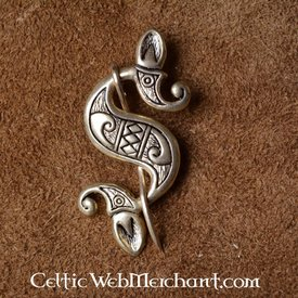Celtic-Roman sea horse fibula