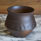 Pot, début du Moyen-Age, 13 cm