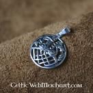 Viking pendant Sleipnir and Odin