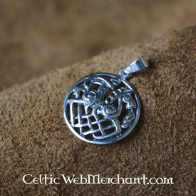 Viking pendant Sleipnir and Odin
