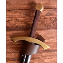 Palnatoke Claymore, LARP épée avec finition acier ou en laiton, moyen