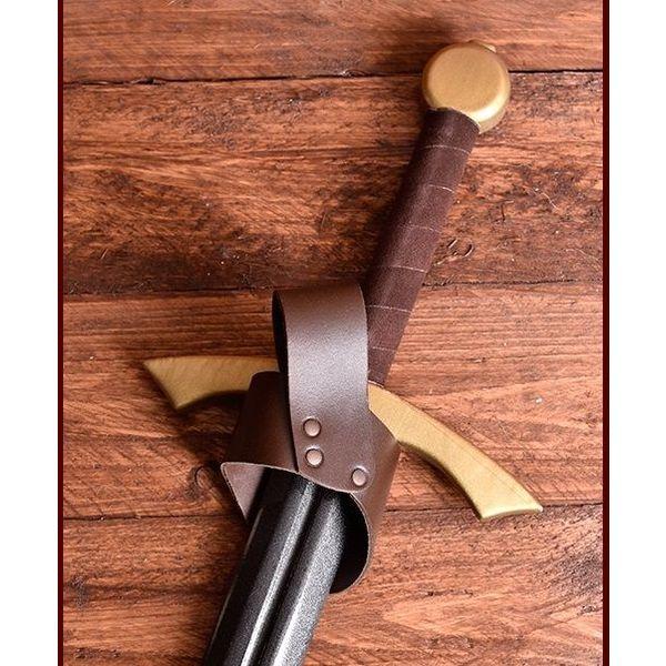 Titulaire de l'Epée pour LARP épée brun