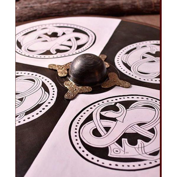Viking enfant style urne en bois