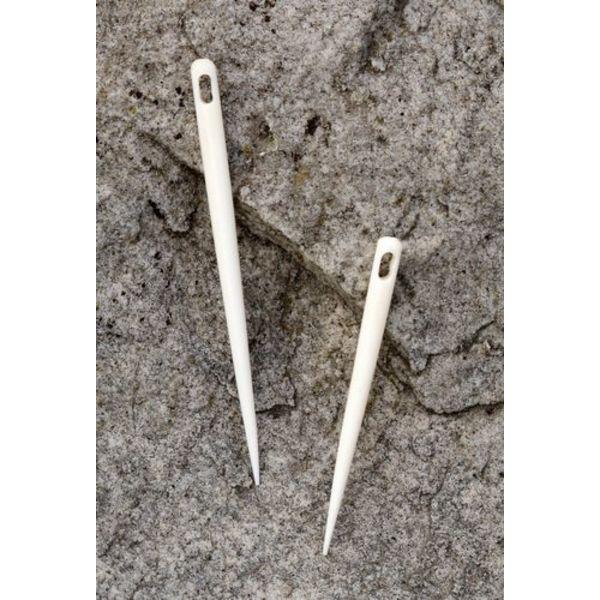 Bone needle for needle binding