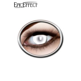 Epic Armoury Coloured Contact Lenses Blind White, LARP Accessories