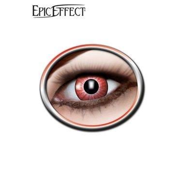 Las lentes de contacto de color, rojo brillante, LARP accesorio