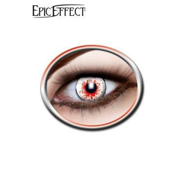 Gekleurde contactlenzen bloed doorlopen, LARP accessoir