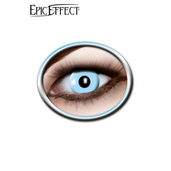 Epic Armoury Coloured Contact Lenses Ice Blue, LARP Accessories