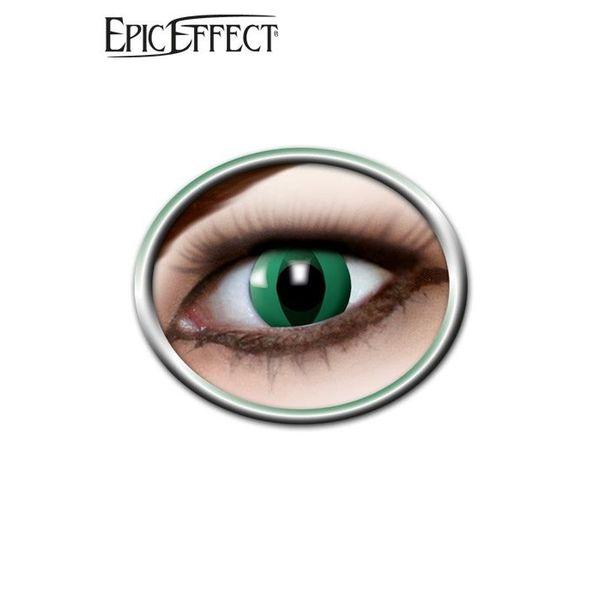 Epic Armoury Anaconda coloré, noir, lentilles de contact, accessoire vert / GN