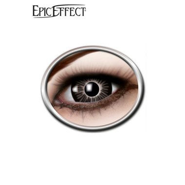Coloured Big Eye Contact Lenses Black, LARP Accessory
