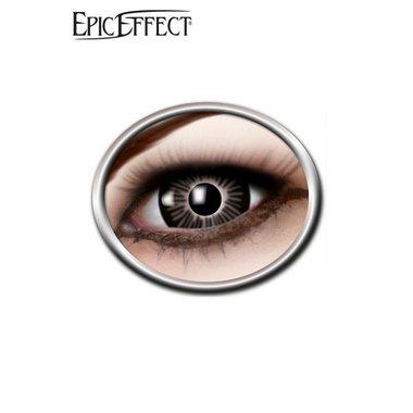 Gekleurde big-eye, zwarte contactlens, LARP accessoir