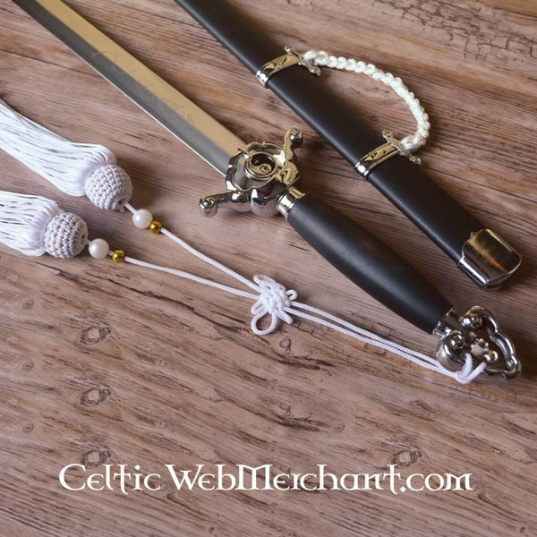 White Tai Chi sword
