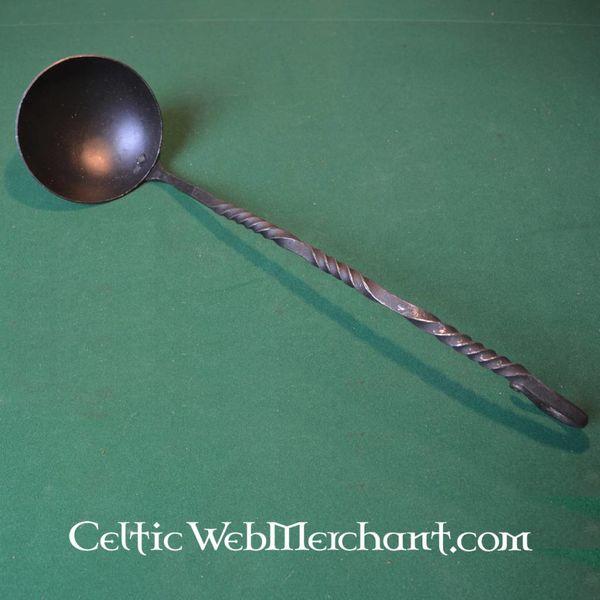 Średniowieczny żelazo łyżka