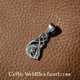 Zilveren Keltische Kelpie hanger