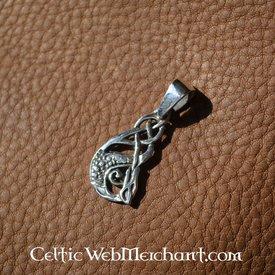 Ciondolo in argento celtica Kelpie
