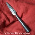 Testa di giavellotto germanico forgiato a mano