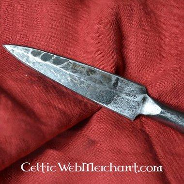 Fer de lance de javelin germanique, forgé à la main