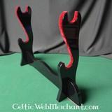 supporto katana deluxe (due spade samurai)