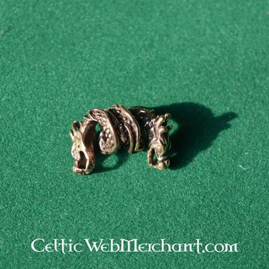 Dragon de bronze beardbead