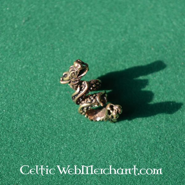 Dragon beard bead bronze