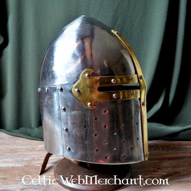 Grand heaume conique français, 12-13ème siècle