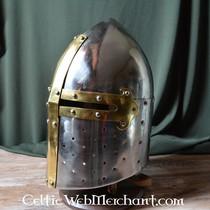 Marshal Historical Grand heaume conique français, 12-13ème siècle