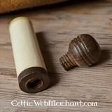 Medieval bone needle case