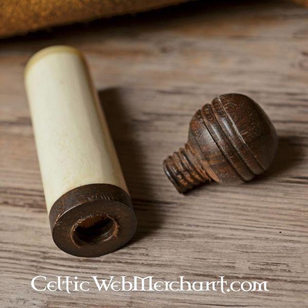 Caja de agujas de hueso Medieval