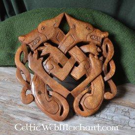 Lobo de madera Odin