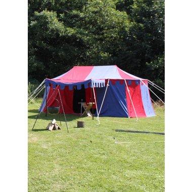 Middeleeuwse tent Burgund, 3 x 5 m