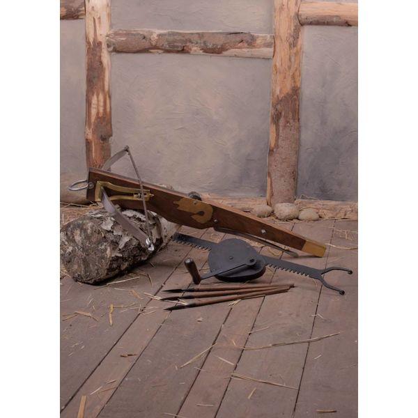 Ballesta del siglo 15 con cranequin