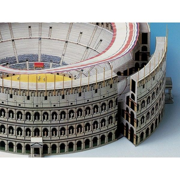 Model building kit Colosseum