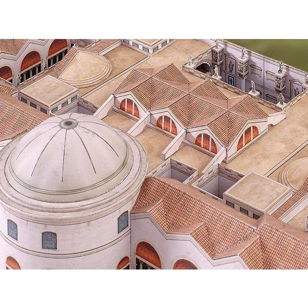 Bouwplaat Thermen van Caracalla