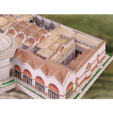 Costruzione di bagno bordo di Caracalla