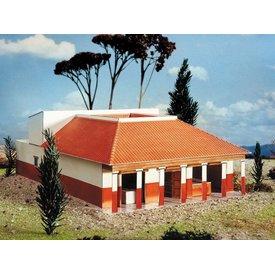 modello di carta villa romana