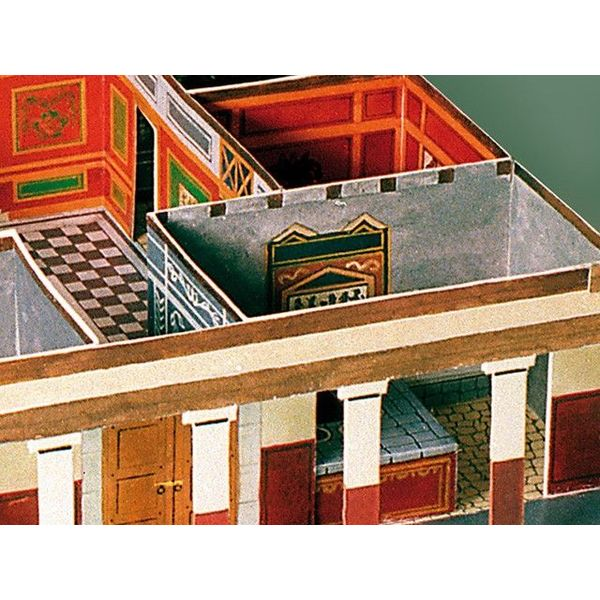 modèle de papier villa romaine
