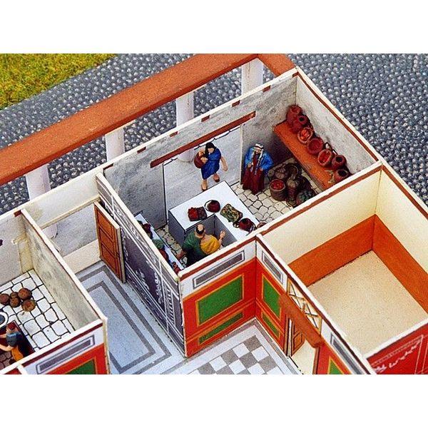 Bouwplaat Romeinse villa