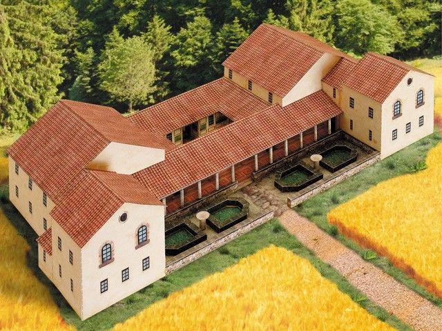 Model building kit villa rustica for Villas rusticas