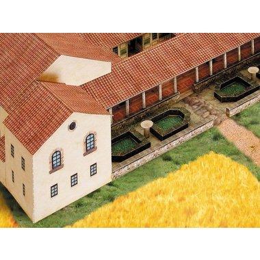 Modelo de papel Villa Rustica
