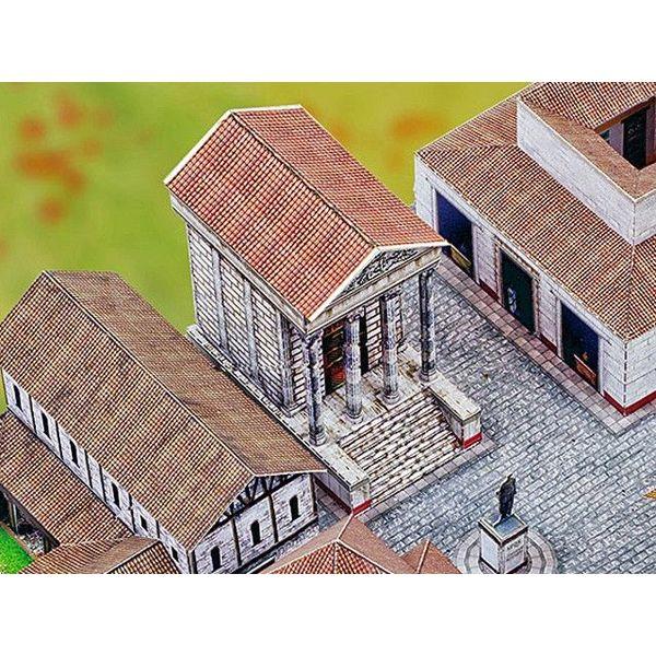 Bouwplaat Romeinse stad