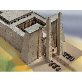 Panel de construcción templo egipcio 1550 - 1070 aC.