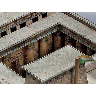 Model building kit Egyptian temple 1550 - 1070 BC.
