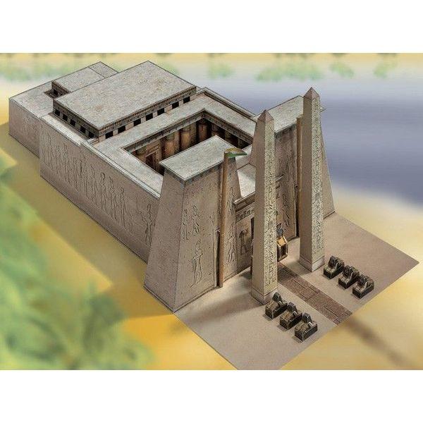 Bouwplaat Egyptische tempel 1550 - 1070 v. Chr