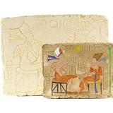Relief Aton et Néfertiti